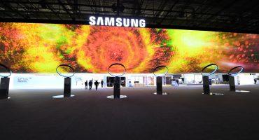 Samsung booth at IFA 2017